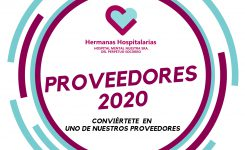 Convocatoria proveedores 2020