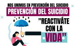 NOS UNIMOS EN PREVENCIÓN DEL SUICIDIO